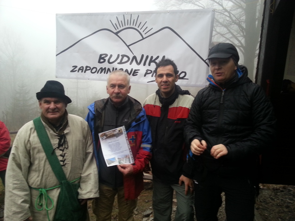 Miłośnicy Budnik oraz burmistrzowie Karpacza i Kowar